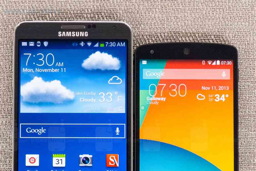 Android vs Samsung