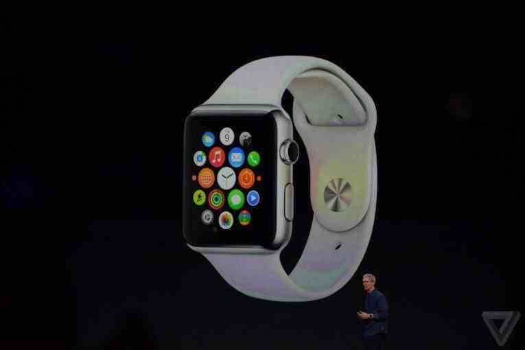 Меню на Apple Watch