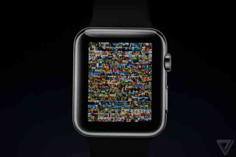 Фото на Apple Watch