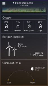 Yahoo Weather - лучшая погода