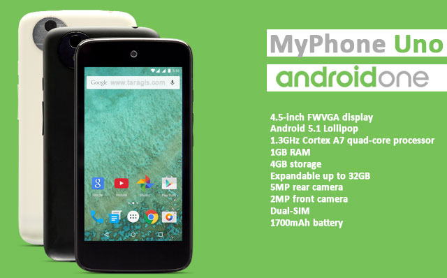 Android One: MyPhoneUno