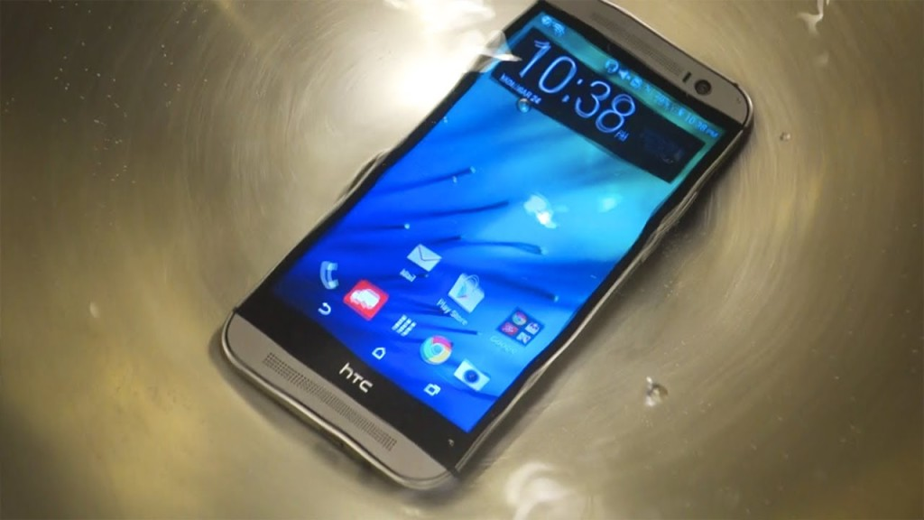 htc m8 water