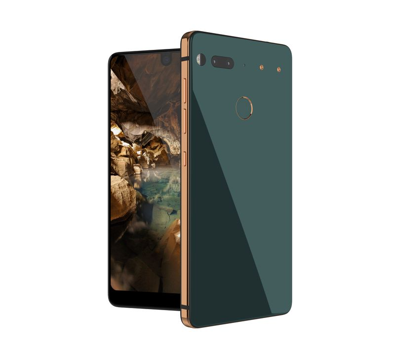 Essential Phone цвета Ocean Depths
